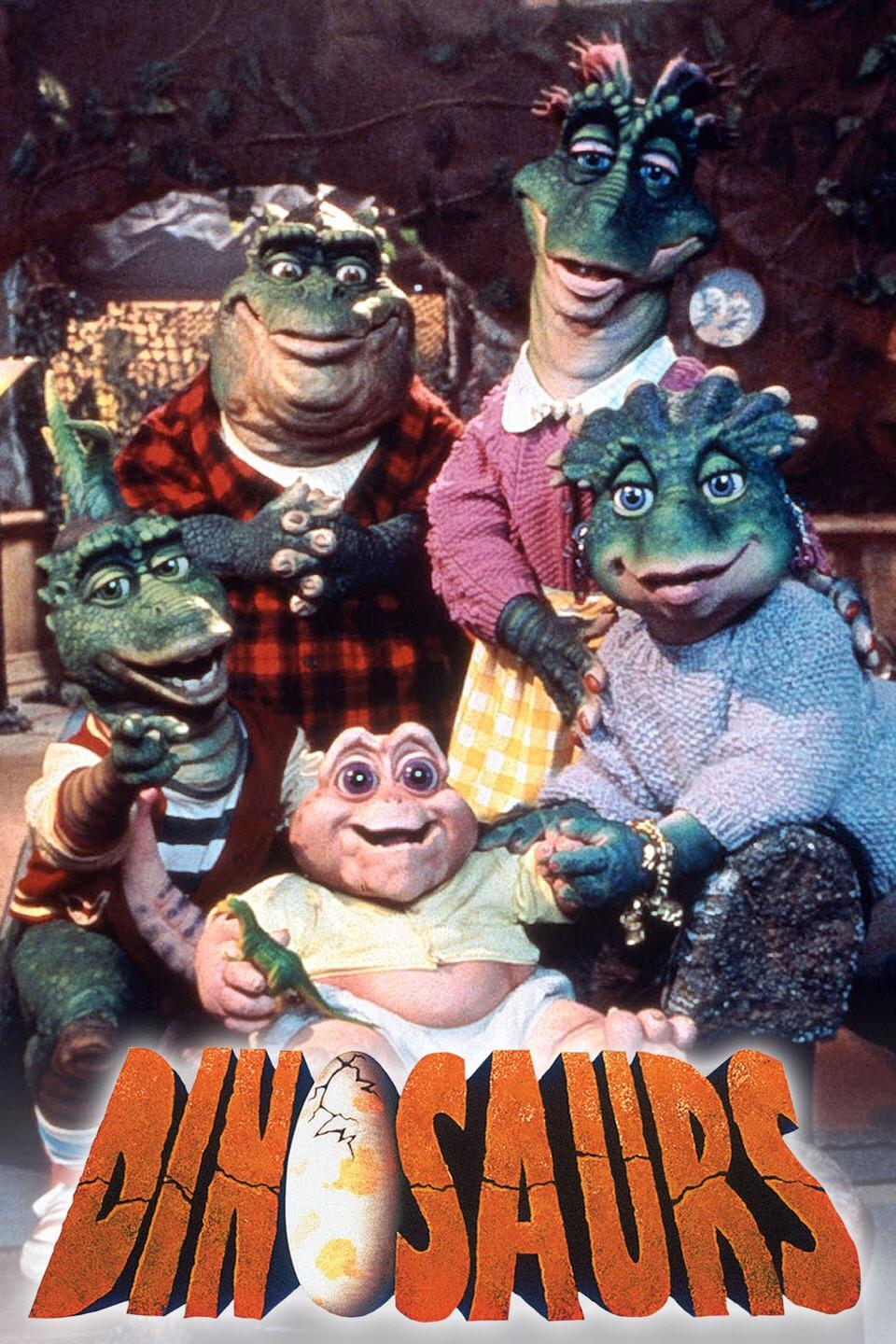 Advertisement for the 1991 series Dinosaurs